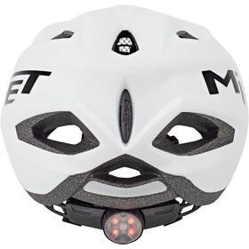 MET Crackerjack Kask rowerowy Dzieci, biały